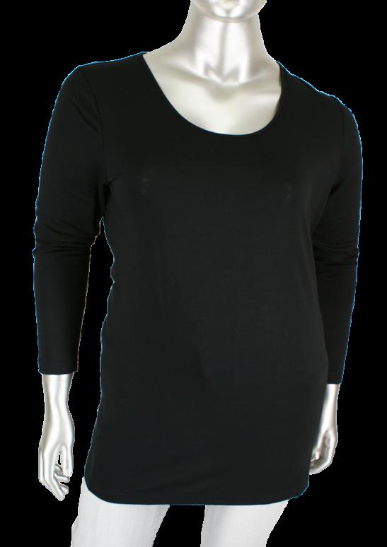 Studio, Trine - Long 007/Black - Shirts
