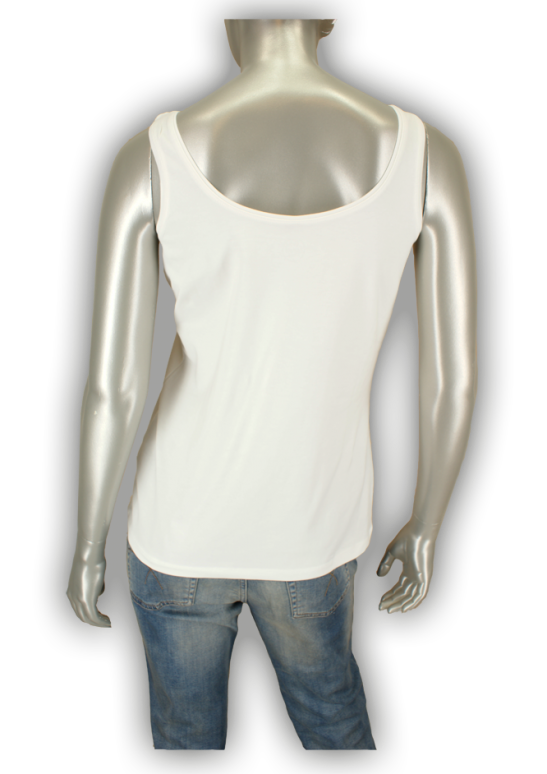 Beau Femme Mode, Belle/OL402 Off White - Tops
