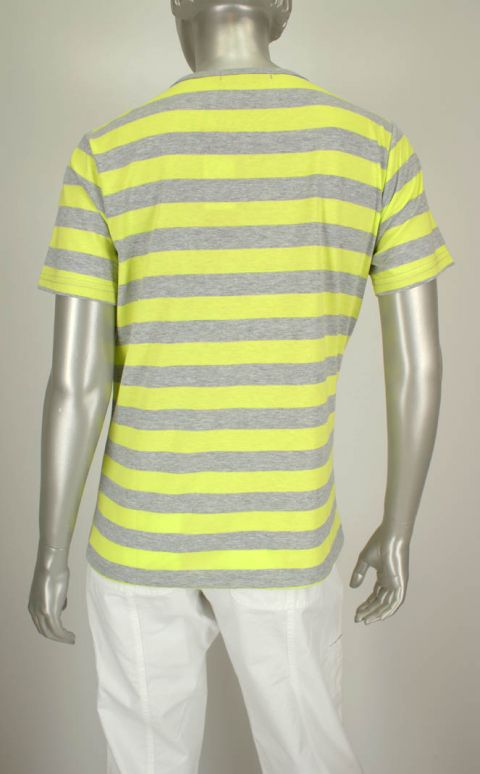 Simonsen, 0401109 10030/Lime/Grijs - Shirts