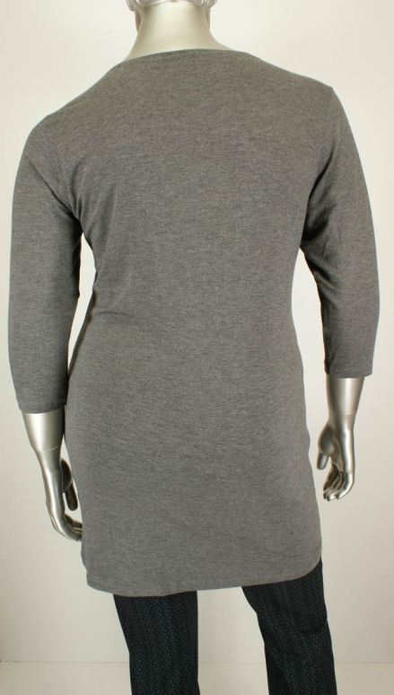 Handberg, 10437-118 02/Dark Grey Mel. - Shirts