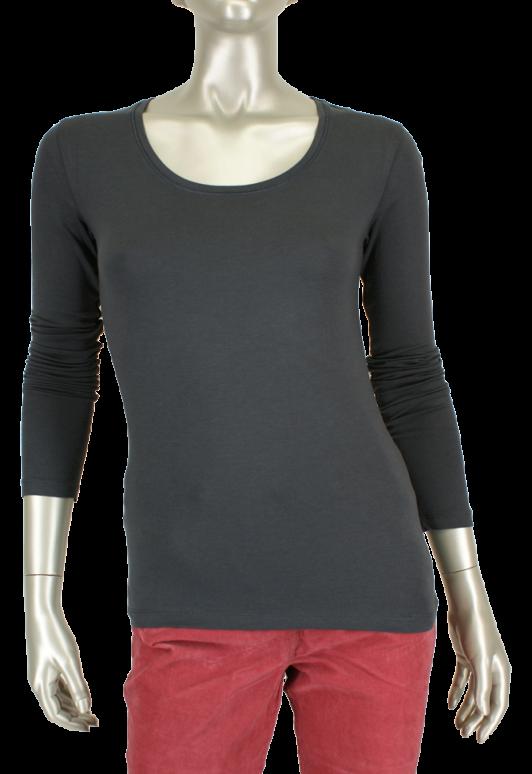 Beau Femme Mode, OL480/Fay 72/Dark Gray - Shirts