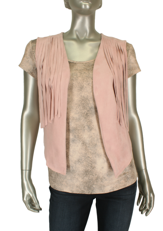 In Shape, 4156663 Rose - Gilet