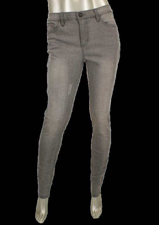 Geisha, GJ-2664-1010 Grey Denim - Broeken
