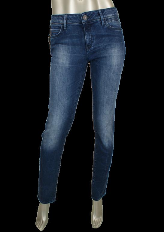 Mavi, Sophie/Ink Dream Comfort Blauw - Broeken