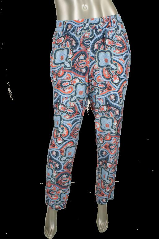 Stark, S-Barah/3349 328/Blauw print - Broeken