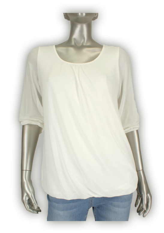 Beau Femme Mode, Night/OL756 Off-White - Blouse's