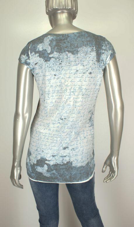 Key Largo, Time/00760DT Jeans Blue - Shirts