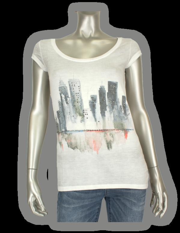 Key Largo, City/00758DT Silver - Shirts