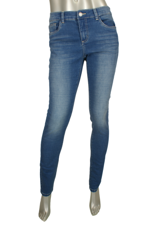 Geisha, 71013-2664-880 000880-Dark bleu denim - Broeken