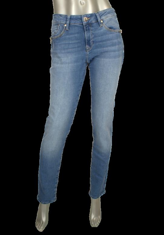 Mavi, Sophie LT Memory Fit Jeans Bleu - Broeken