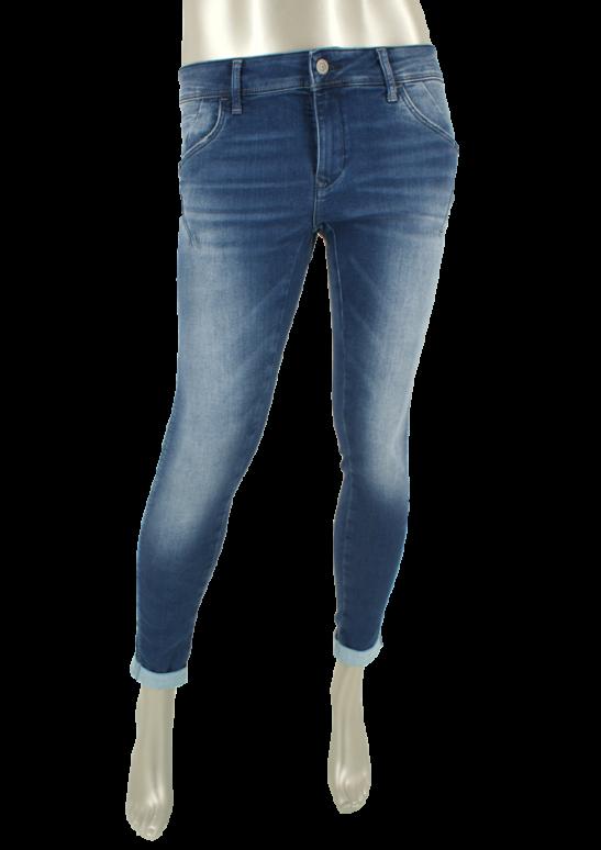 Mavi, Lexy  Mid Brushed Glam - Broeken