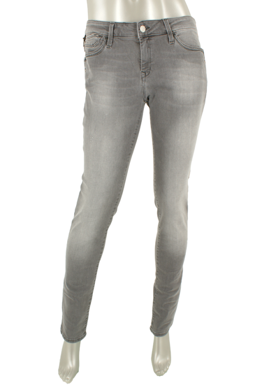 Mavi, Nicole Mid Grey Glam - Broeken