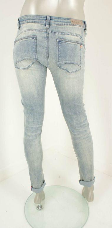 Florez, 1802/ Charmeur Skinny  Jeans/Grey Blue - Broeken