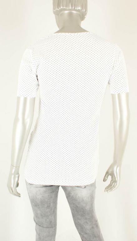 Azuri, Stip Wit/Zwart - Shirts