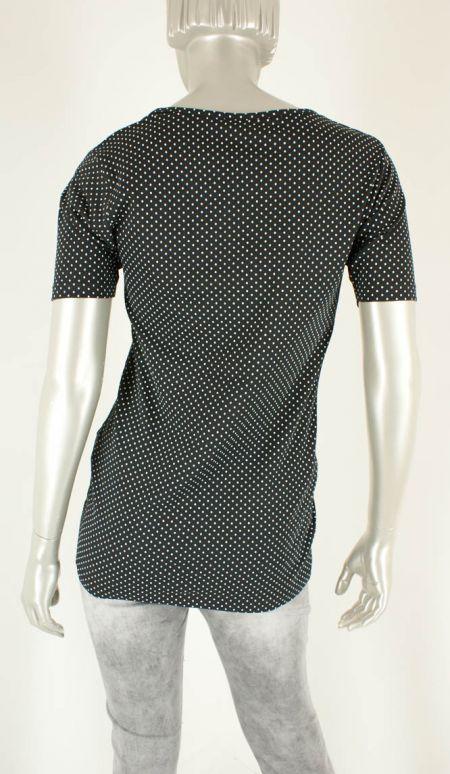 Azuri, Stip Zwart/Wit - Shirts