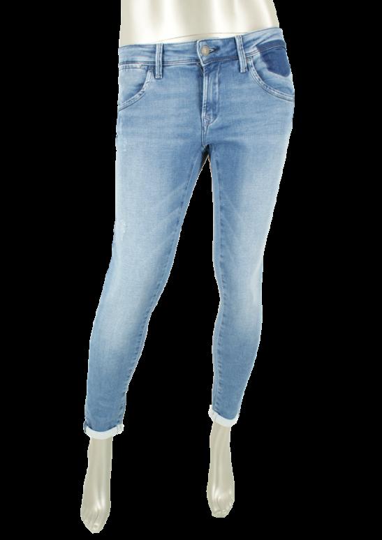 Mavi, Lexy/ Mid Brushed Sporty Jeans - Broeken
