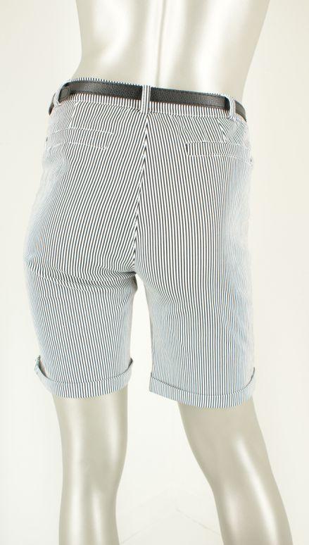 Iz Naiz, 1541 Streep Navy - Shorts