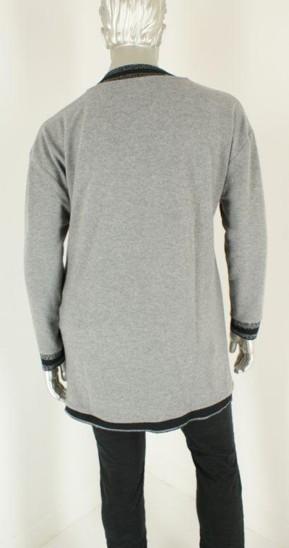 Aprico, A1266 Shiny Silver - Truien/Pullovers