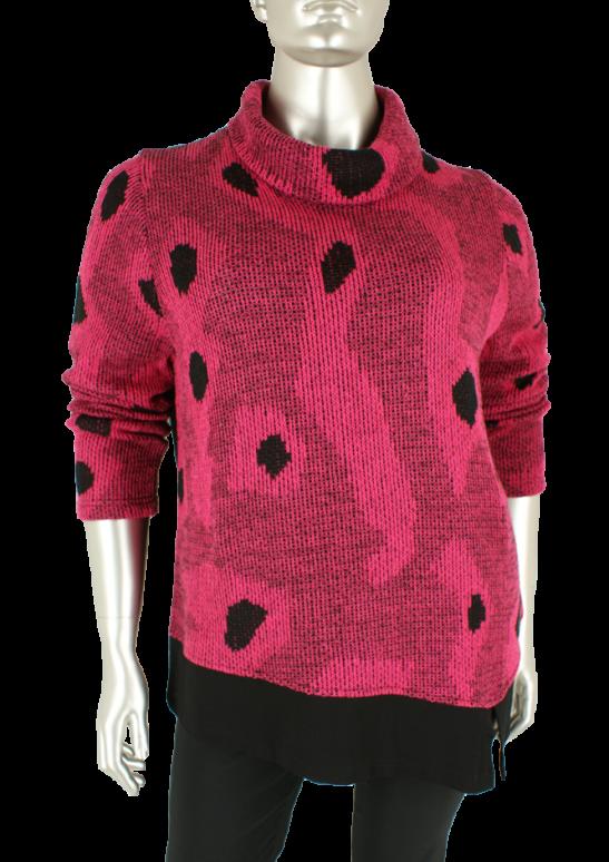Sempre piu, S1746 053/Pink - Truien/Pullovers