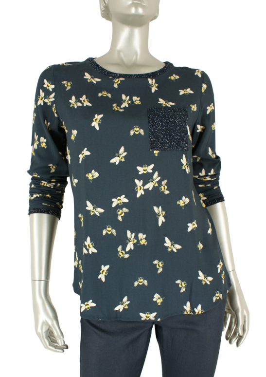 Geisha, 83784-20 000675/Navy - Tops