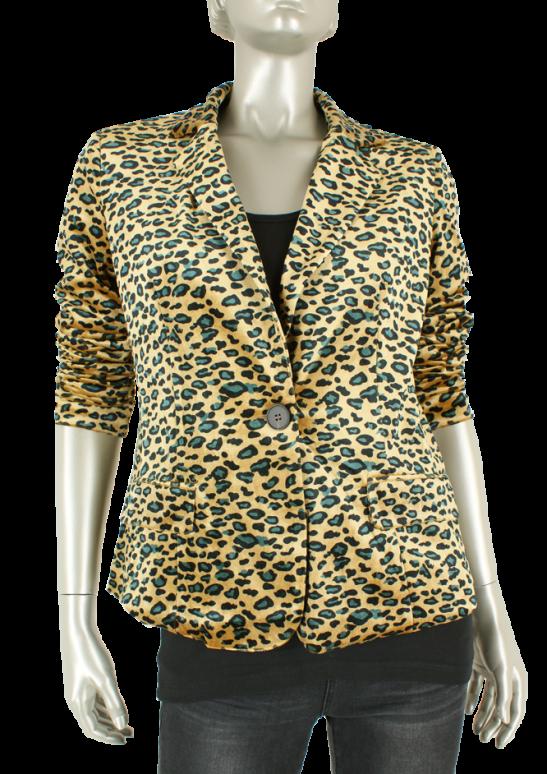 Geisha, 85820-21 000025/Leopard yellow - Blazers