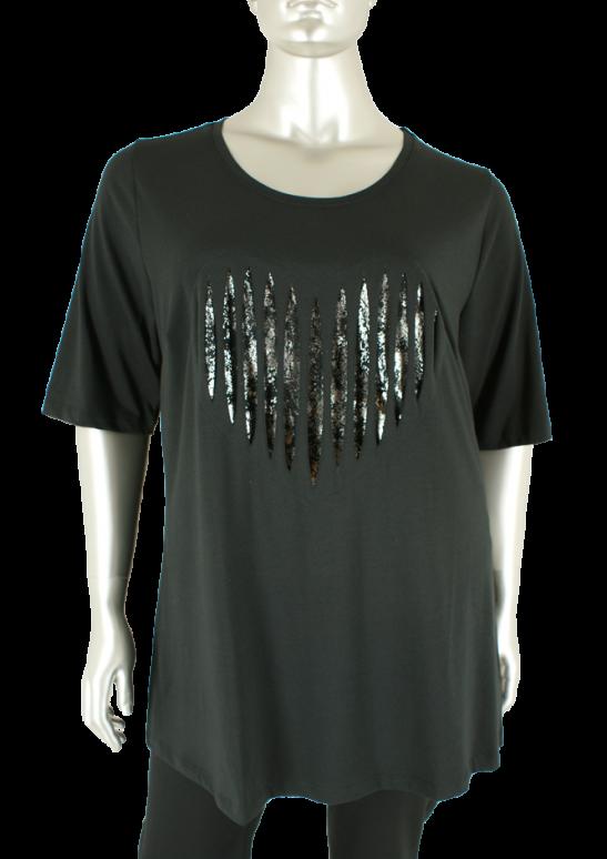 Sempre piu, S8330 010/Black - Shirts