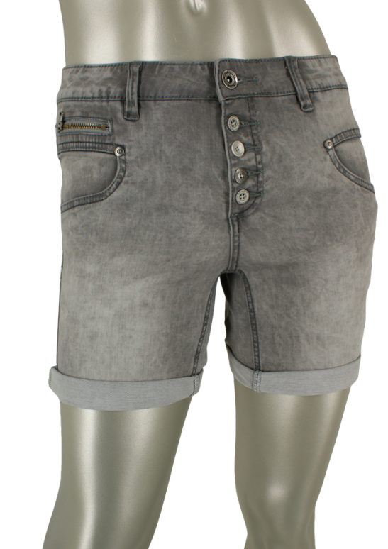 Geisha, 91309-10 000805/ Grey denim - Shorts