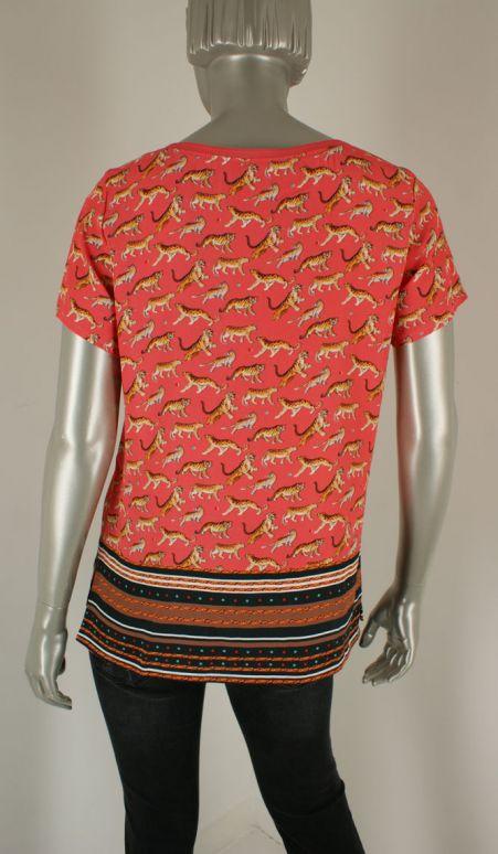 Geisha, 93387-20 000220/Coral - Tops