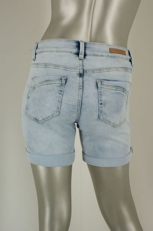 Geisha, 91309-10 000836 Heavy Bleached Denim - Shorts