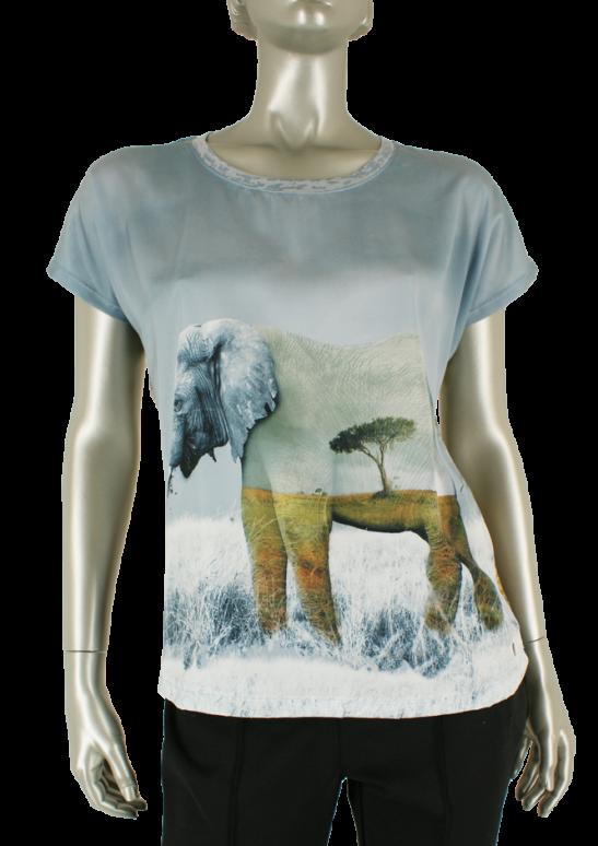 Dividere, 0419DD Landscape Elephant - Shirts