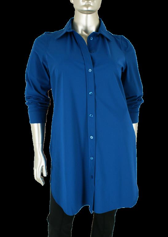Plus Basics, 8Xl Blue - Blouse's