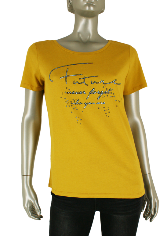 Geisha, 92534-46 000175 Ocher yellow - Shirts