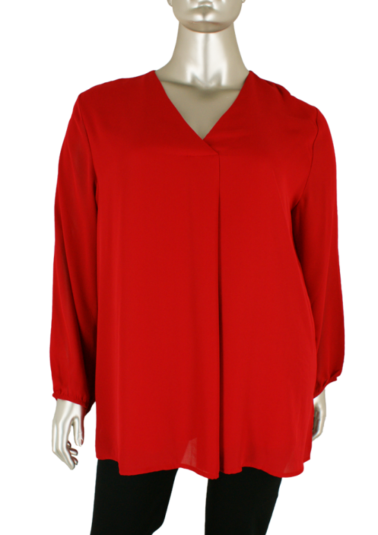 Via Appia Due, 659 831 350/Red - Blouse's