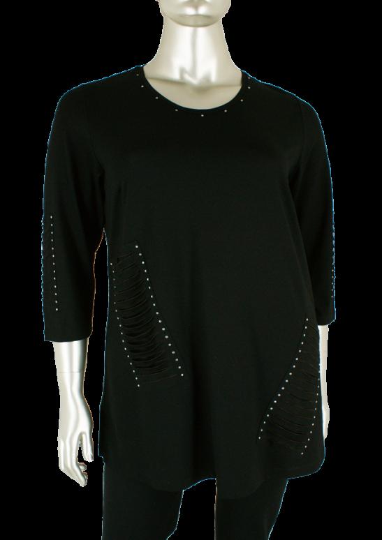 Sempre piu, S8532 010/Black - Shirts