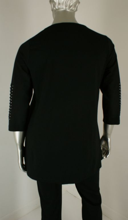 Sempre piu, S8532 010/Black - Shirts