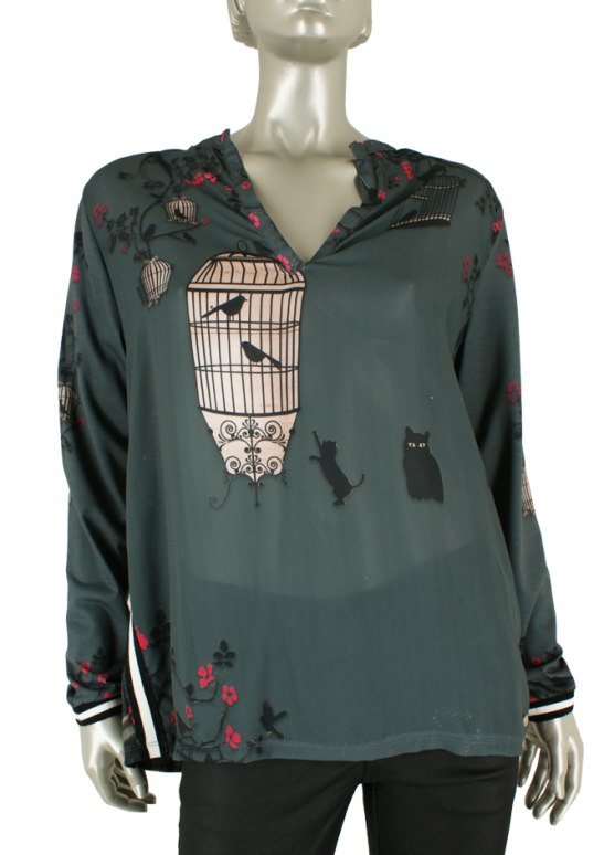 Dividere, Torino Birdcage Antra - Tops