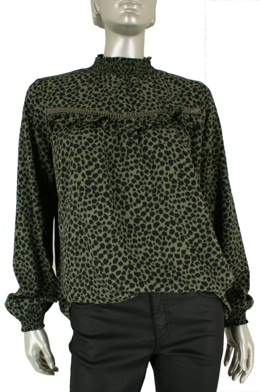 Geisha, 93823-21 550/Army Black Panter - Blouse's