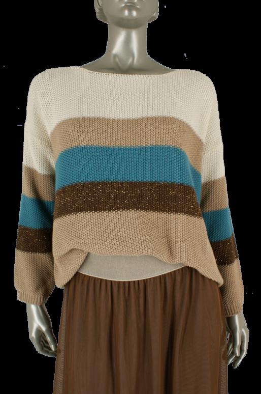 20to, DC18270 Multi Stripe - Truien/Pullovers
