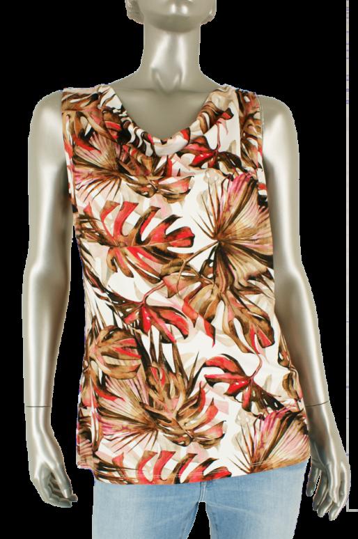 Beau Femme Mode, 1L538/Haley 34/Coral - Tops
