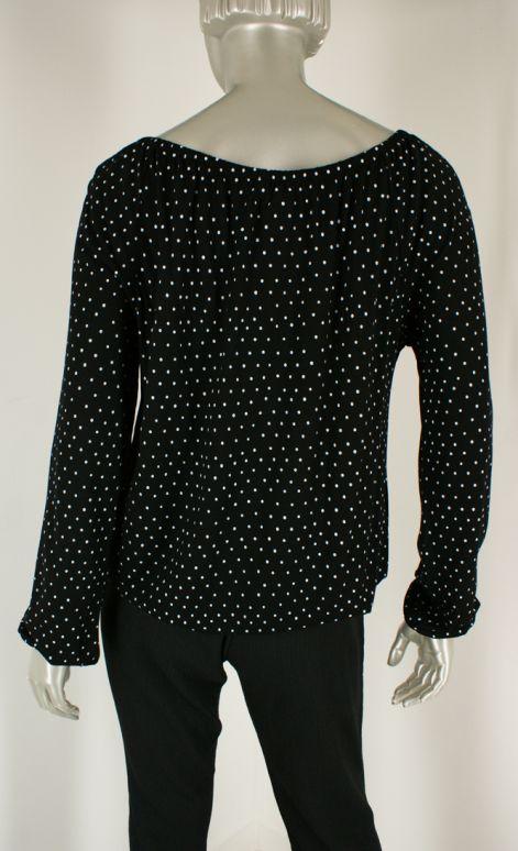 Geisha, 02016-60 000009-Black/White combi - Tops