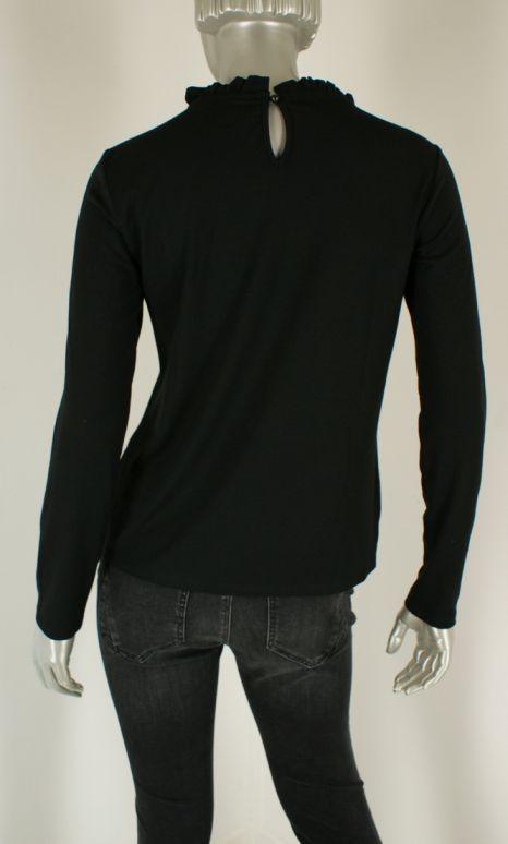 Beau Femme Mode, 1L567/Meike 9/Black - Shirts