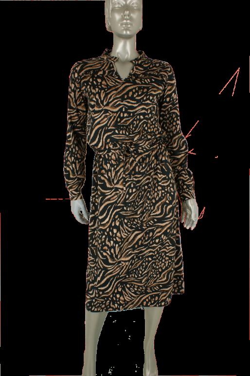 Geisha, 07896-20 999/Black/Sand Combi - Jurken