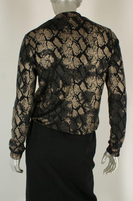 Geisha, 03926-20 000999/Black/Gold Combi - Tops