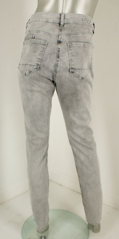 Sandwich, 24001676 80060/Bleached Denim Grey - Broeken