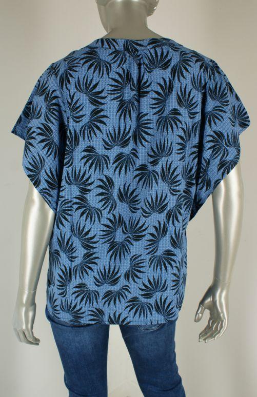 Geisha, 13171-20 000625/Blue combi - Tops