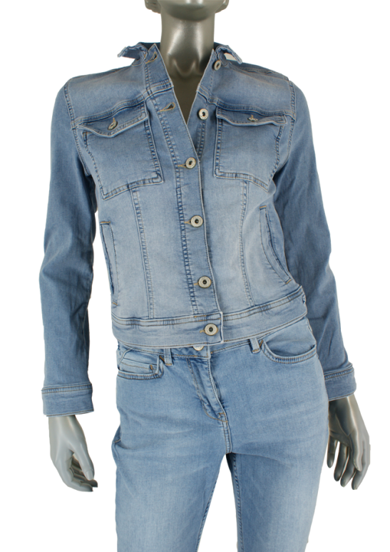 Sandwich, 25001581/Light Blue Denim 40100 - Jassen