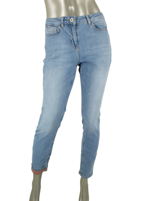 Sandwich, 24001640 40100/Light Blue Denim - Broeken