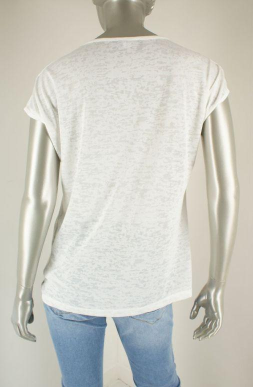 Geisha, 12042-40 000000/White/Tabacco - Shirts