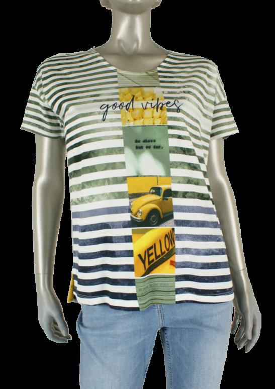 Kenny S., 603714 4533/Groen Combi - Shirts