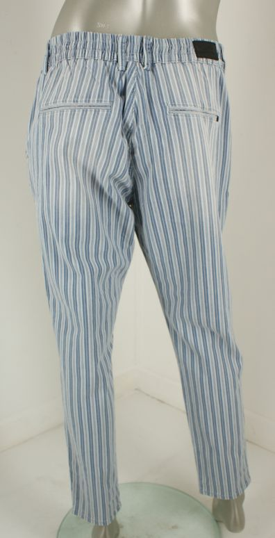 Miracle Of Denim, 2040/Ines Boyfriend 765 Blue Stripe - Broeken